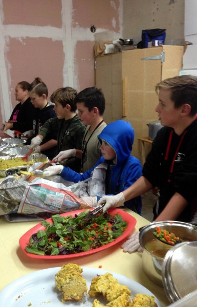 Learning benefits of volunteering