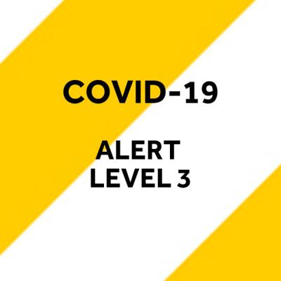 COVID-19 Volunteer Guidelines - Alert Level Three
